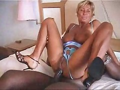 Beatiful Busty French Milf Fucks with a BBC only ANAL