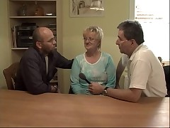 Blonde Granny Fisted together with Fucked