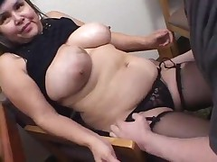 BBW GRANNY SUCK AND FUCK