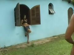 Monica - brazilian hardcore facefuck