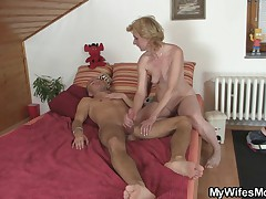 I can't believe you fucked my husband, mom!