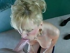 Racquel Devinshire Swallows Her Hubby's Load Like a Good Girl