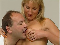 Hot German Mature Couple Coition