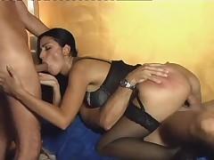 Italian Anal Threesome S88