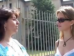 Italian Teen Has A Old Teacher