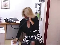 Dominate Grown up Sob sister Gets Fucked down Office