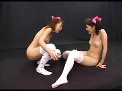 Sperm Lesbian Bukkake