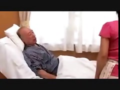 Old man care of the frustration wife(censored)