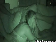 Swinger Orgy Night Vision