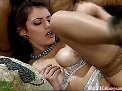 Pussy Fisting And Anal Fucking Threesome