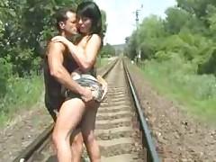 Sex On Train Tracks