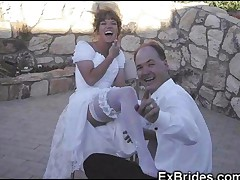Real Brides Partying