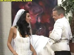 Letting New Bride Have Black