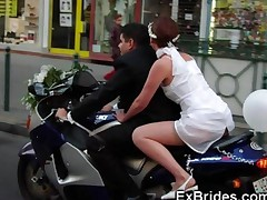 Real Brides Hot In Public