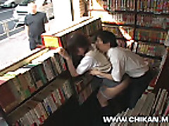 Mosaic- Shy girl groped and used in a bookstore