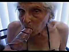 old slut 84 years old still loves young cock