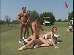 golf gangbang