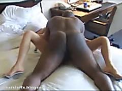 Amateur MILF Skylar - Firs Black Cock part1