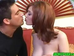 Russian Redhead Teen Lenka Fucked