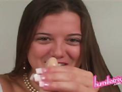 Princess Becky Le Sabre Forces You To Cum
