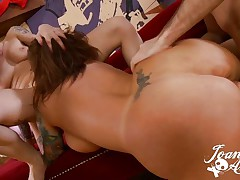 Joanna Angel and Mason Moore anal creampie