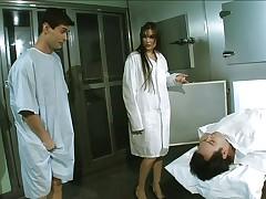 Sasha Grey anal fucked at the morgue