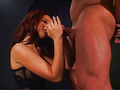 Sexy redhead fucks great in every position