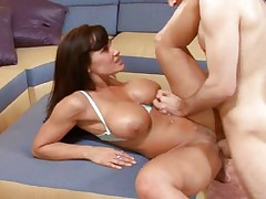 Lisa Ann loves takin a cock in her mouth