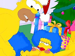 Simpsons wish you a Happy New Year