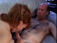Old Redhead Bangs Younger Man