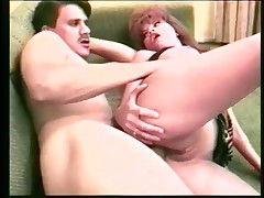 Older Couple Bangs On The Couch And Cums On Her Cooter