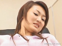 Sweet Asian Gets Pussy Checked At Doctor