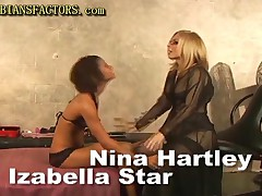 Nina Hartley And Izabella Star - Blonde Milf Shows Teen How To Get Satisfy
