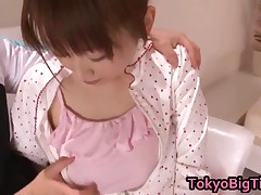 An Nanairo - An Nanairo Lovely Asian Schoolgirl Enjoys Sex 1 By TokyoBigTit