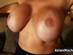 Rachel Aziani - Mom With Huge Tits Loves Riding The Sybian At Home By AzianiRachel