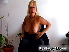 Beautilicious Blonde Milf With Suckable Perfect Tits 1 By RealBustyGF