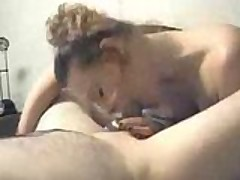 Slutty Wife Giving Blowjob