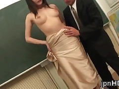 Suzuki Chao - Suzuki Chao Gets Filled With Jizz By Two Guys At School 1 By JpnHD