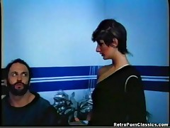 Lisa Thatcher - Vintage Sci Fi Pornstar Lisa Thatcher Getting Her Hairy Pussy Fucked In The Future