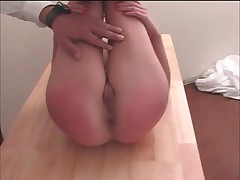 Sexy Whore Was Being Naughty And Getting Her Butthole Whipped Till Its All Red 3 By SinfulSpankers