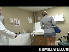 Velicity Von - MILF Humiliation - Vagina Doctor Fuck