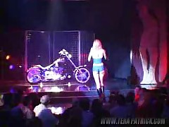 Tera Patrick - Harley Show - Backstage And Performance