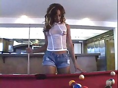 Ebony hooker ass fucked and facialized