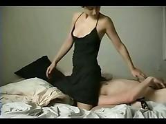 Amateur couple fuck together on webcam