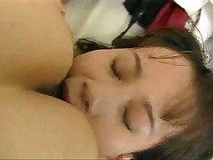 Japanese girls kiss
