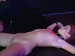 Dyke Rectal Rubbing And Booty Beating