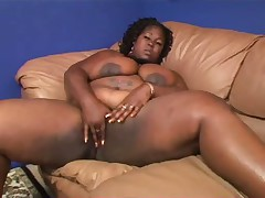 Big Ebony Woman Subrina