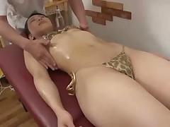 Japanese Massage play