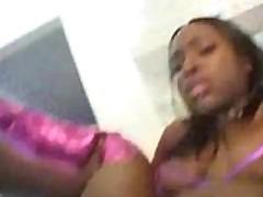Hot pink Skyy Black rump nailed hard