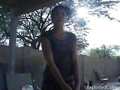 Jenna: Outdoor Cocksucking During Smoke Break